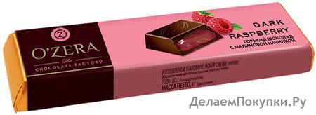 Шоколадные батончики O`Zera Dark Raspberry