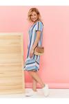 #101628 Платье Голубой