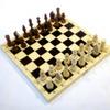 шахматы обиходные парафинированные П (Код: 02-13)