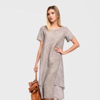 Платье КАТАЛИНА 03327R Серый