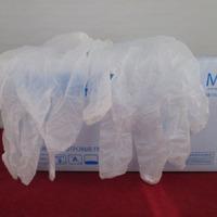 Перчатки виниловые White line белые размер M 1уп/50пар