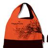Эко-сумка (ветки) цвет коралловый