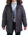 Куртка пуховая удлиненная 16608 без опушки