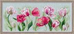 """Набор для вышивания «Риолис» («Сотвори Сама») 100/052 """"Весенние тюльпаны"""""""