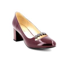W21564 Туфли в/с жен борд нат лак нат кож 35-40