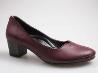 R2613B Туфли жен закр борд нат кож нат кож
