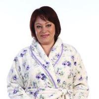 Халат женский Зефир (фиолетовый) №НК-3-92Г размеры 50-58