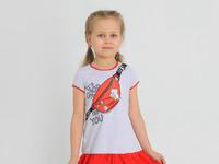 """Платье """"Лина-1"""" с шелкографией"""