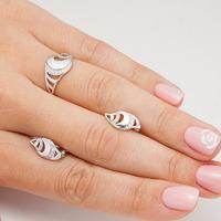 Серебряные серьги - 170 - распродажа