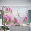 Кухонный фототюль Букет алых роз