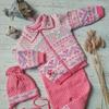 комплект детский «Фунтик» светло-розовый