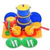 Посуда д/кукол Хозяюшка (больш.набор-14 предметов на подносе)