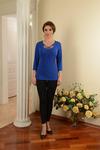 Блузка с плетением Salvi