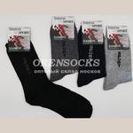 Береза носки мужские Бамбук в упаковке 12шт разных расцветок Б01