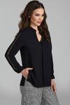 Блуза Teffi Style L-1508 черный
