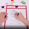 Папка для занятий «Пиши и стирай» + маркер + дидактический материал