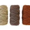Шнур для вязания полиэфирный, 3 мм, 50 м / 105 г, набор 3 шт. 3676593-9