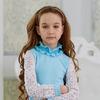 Блузка школьная c воротом-рюшей (рост 158 см)