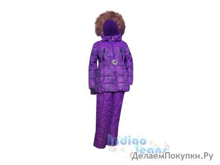 Теплый зимний костюм для девочек
