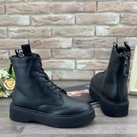 Женские ботинки 1351-1 черные