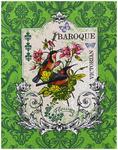 Полотенце вафельное BAROQUE ПТИЧКИ - victorian р-р 50х60  (в наличии)