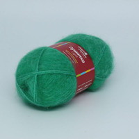 ПУШИНКА LIGHT, зеленая бирюза, делим упаковку по 0,5 кг