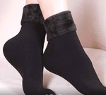 Женские носки с мехом