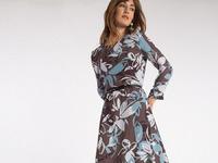 Шифоновое платье PL1068/romantic