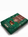 Конфеты (7) Kedrini. Темное кедровое пралине в молочном шоколаде, 80 г