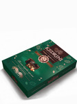 Конфеты (7) Kedrini. Темное кедровое пралине в темном шоколаде, 80 г