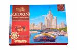 Конфеты Kedrini. Москва. Семь высоток Москвы. Сиб. орех с ягодами молочный шоколад, 160 г
