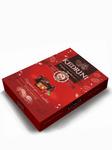 Конфеты (7) Kedrini. Кедровый орех с клюквой в темном шоколаде, 80 г