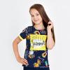 ФУТБОЛКА ДЛЯ ДЕВОЧКИ, КУЛИРКА 5-8 лет