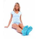 Носки противоскользящие для занятий йогой с разделенными пальчиками