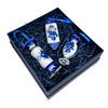 """Набор ёлочных игрушек """"Конфетки"""" в традиционной росписи в коробке"""