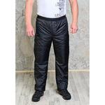Утепленные синтепоном мужские брюки на поясе- резинка р-ры 46-70 (выбираем цвет)