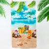 Полотенце пляжное вафельное 150*60