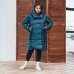 Куртка женская удлиненная зимняя 71 от K&ML