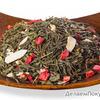 Зелёный чай с добавками Клубника со сливками /свежая поставка/ товар без скидки