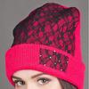 Женская шапка на флисе Октавия