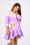 Платье детское - Тутти Фрутти - лаванда