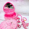 Шкатулка двухъярусная с детской бижутерией и аксессуарами арт. 991479