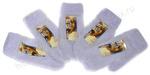 варежки женские пушистые ангора
