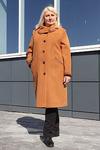 Пальто демисезонное Кашемир с теснением