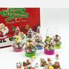 Набор мини ластиков Новый год в футляре елочка 9046279