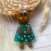 Магнит «Корова в платье»