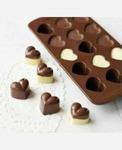 """Формочка силикон """"Сердца"""" для шоколада, льда и др. 15 ячеек 9046068"""
