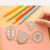 Закладка для книги металлич. Супергерои, в ассортименте 9046017