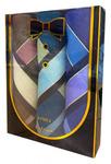 Носовые платки мужские в подарочной упаковке БАБОЧКА 3 пр р-р 40х40