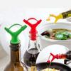 Пробка-лейка для вина, уксуса, соуса, масла и тд. Силикон 9046311